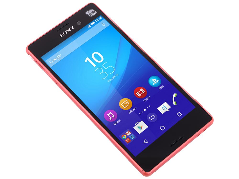 Смартфон Sony Xperia M4 Aqua Dual 3G (E2312) coral. Производитель: Sony, артикул: 0299217