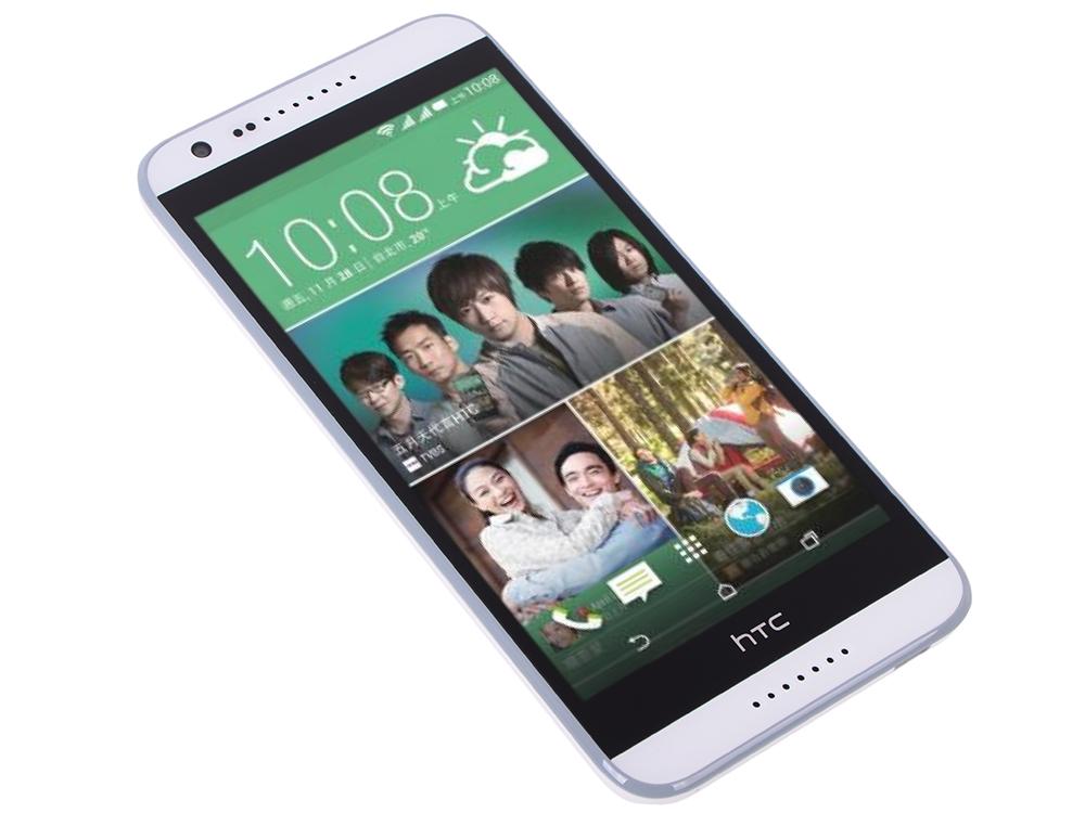 Смартфон HTC Desire 620G dual sim Gloss White/Light Grey Trim