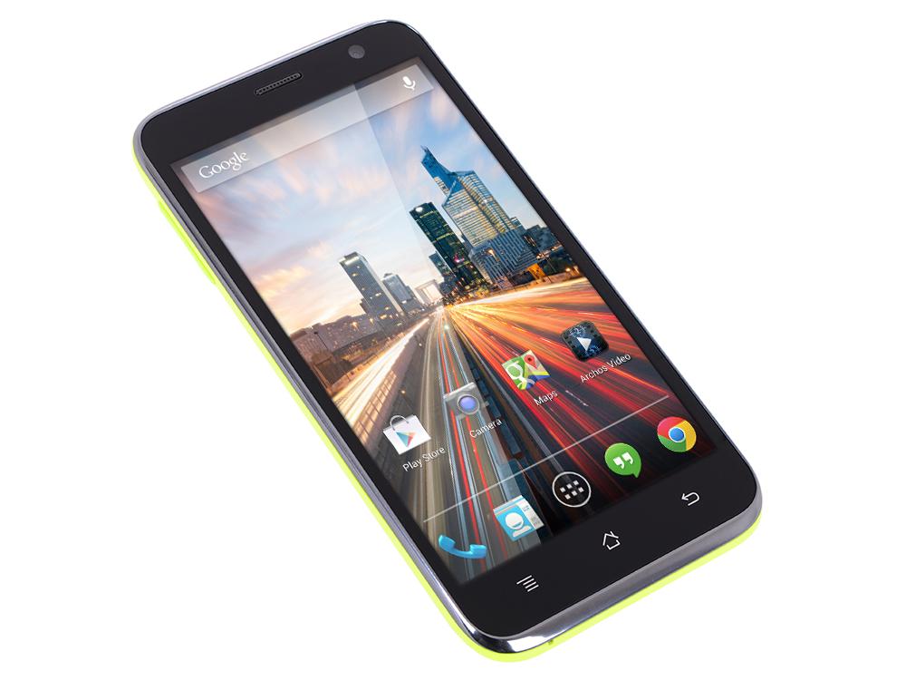 Смартфон Archos 50c Neon 1.2Ghz/5'' IPS/1Gb/8Gb/Dual SIM/SD/WiFi/BT/8MP/And 4.4