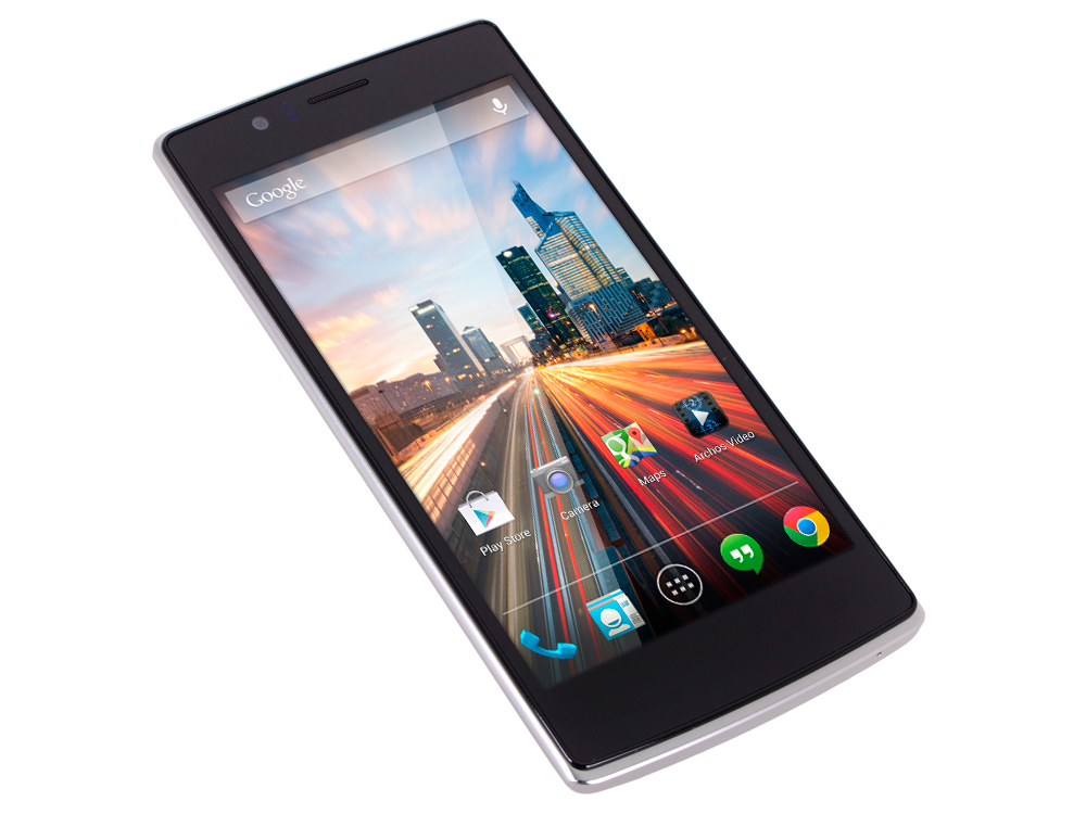 Смартфон Archos 50d Helium 4G 1.2Ghz/5'' IPS/1Gb/8Gb/4G LTE/Dual SIM/SD/WiFi/BT/Cam 13MP/And 5.1