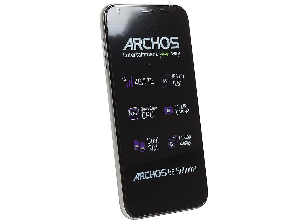 Смартфон Archos 55 Helium+ 1.0Ghz/5.5 IPS/1Gb/8Gb/4G LTE/Dual SIM/SD/WiFi/BT/Cam13MP/And 5.1/Black