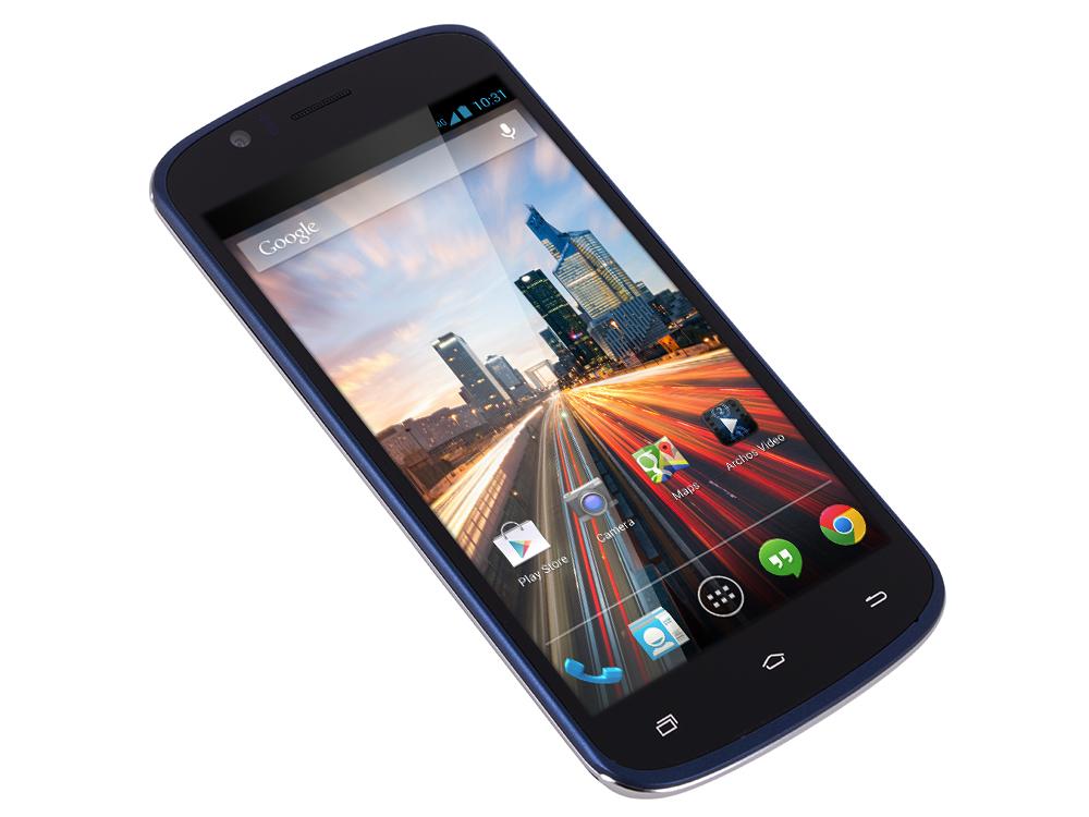 Смартфон Archos 50e Helium 4G 1.1Ghz/5'' IPS/1Gb/8Gb/4G LTE/Dual SIM/SD/WiFi/BT/Cam 8MP/And 5.1