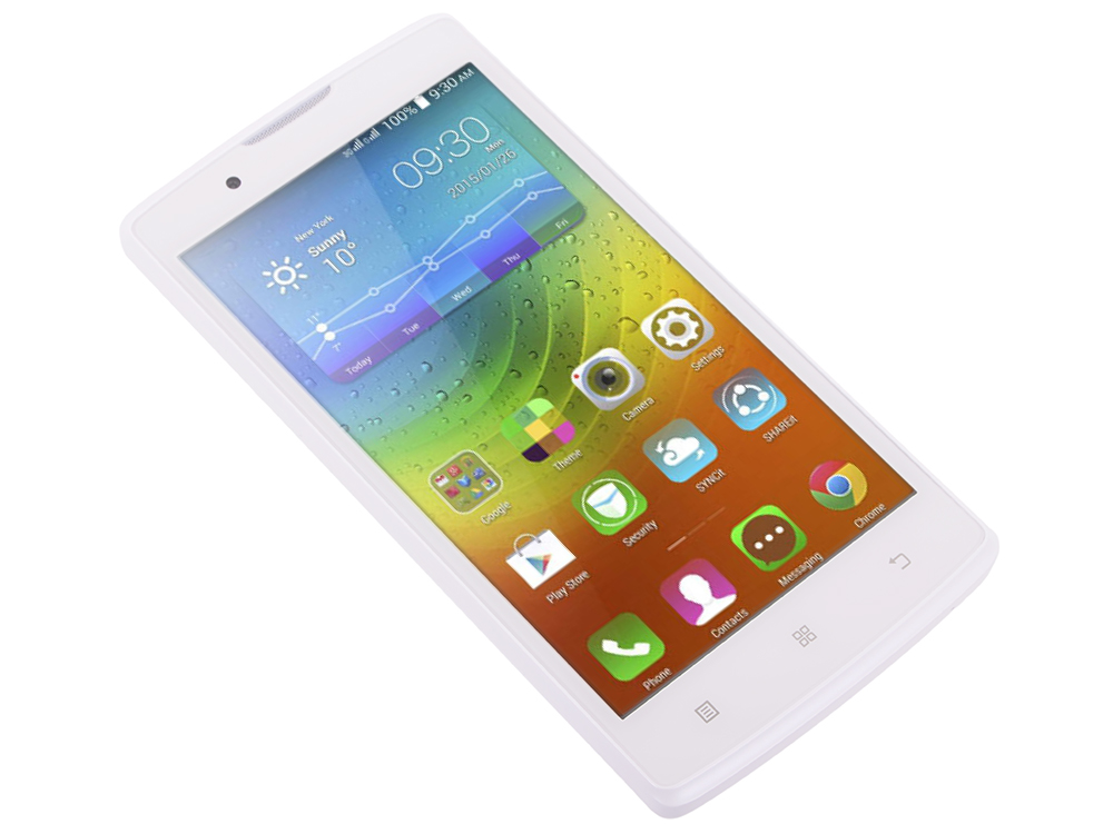 Смартфон Lenovo IdeaPhone A2010-A DUAL SIM LTE WHITE (PA1J0006RU)