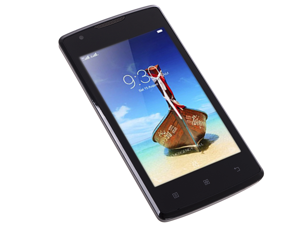 Смартфон Lenovo IdeaPhone A1000 DUAL SIM 3G BLACK (PA1R0025RU) digma linx a420 3g 4гб белый dual sim 3g