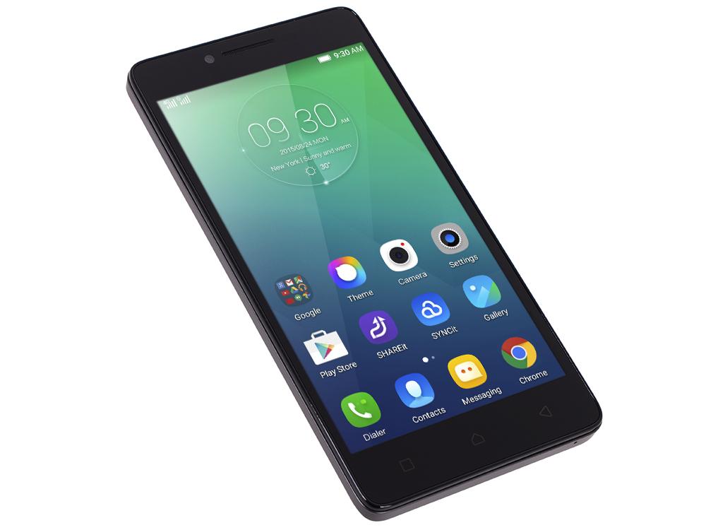 Смартфон Lenovo IdeaPhone A6010 DUAL SIM LTE BLACK (PA220036RU)