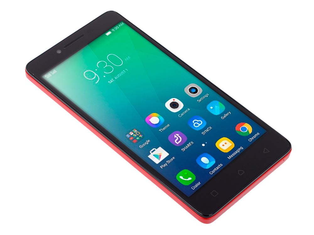 Смартфон Lenovo IdeaPhone A6010 2SIM 8GB LTE RED (PA220037RU)