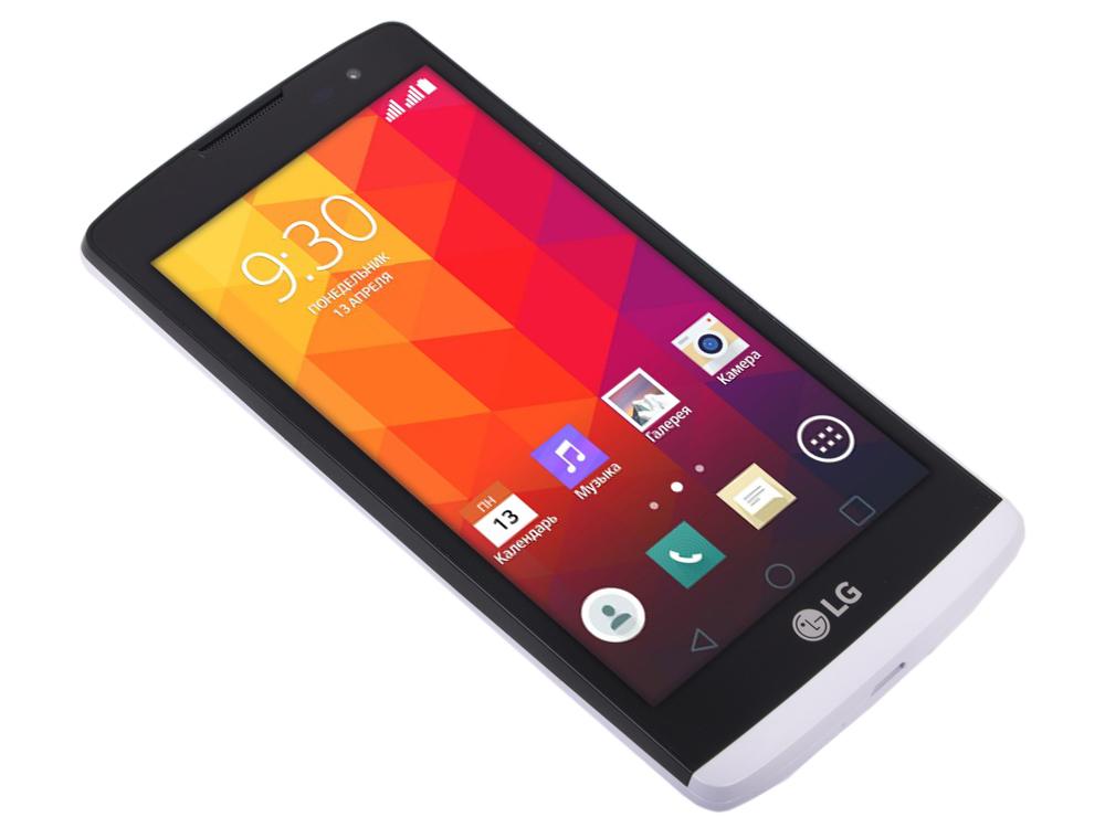 Смартфон LG H324 Leon 4Gb белый моноблок 3G 2Sim 4.5