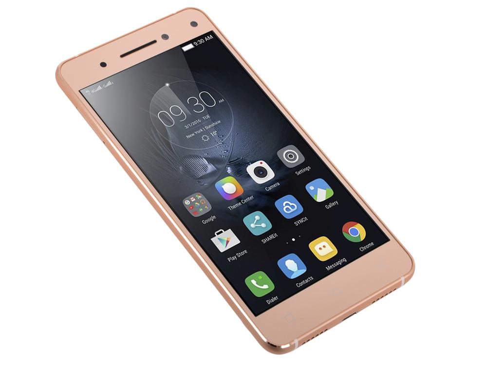 Смартфон Lenovo IdeaPhone VIBE S1 DUAL SIM LTE GOLD (PA200076RU) смартфон lenovo vibe s1 lte white