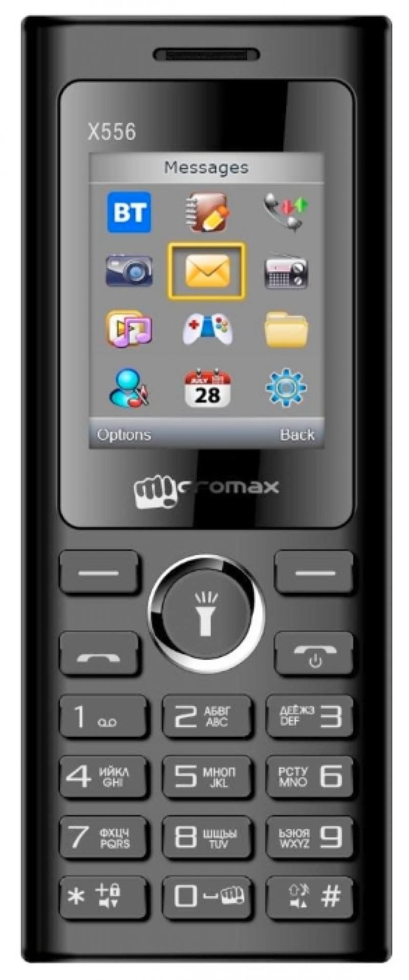 Мобильный телефон Micromax X556 черный 1.77
