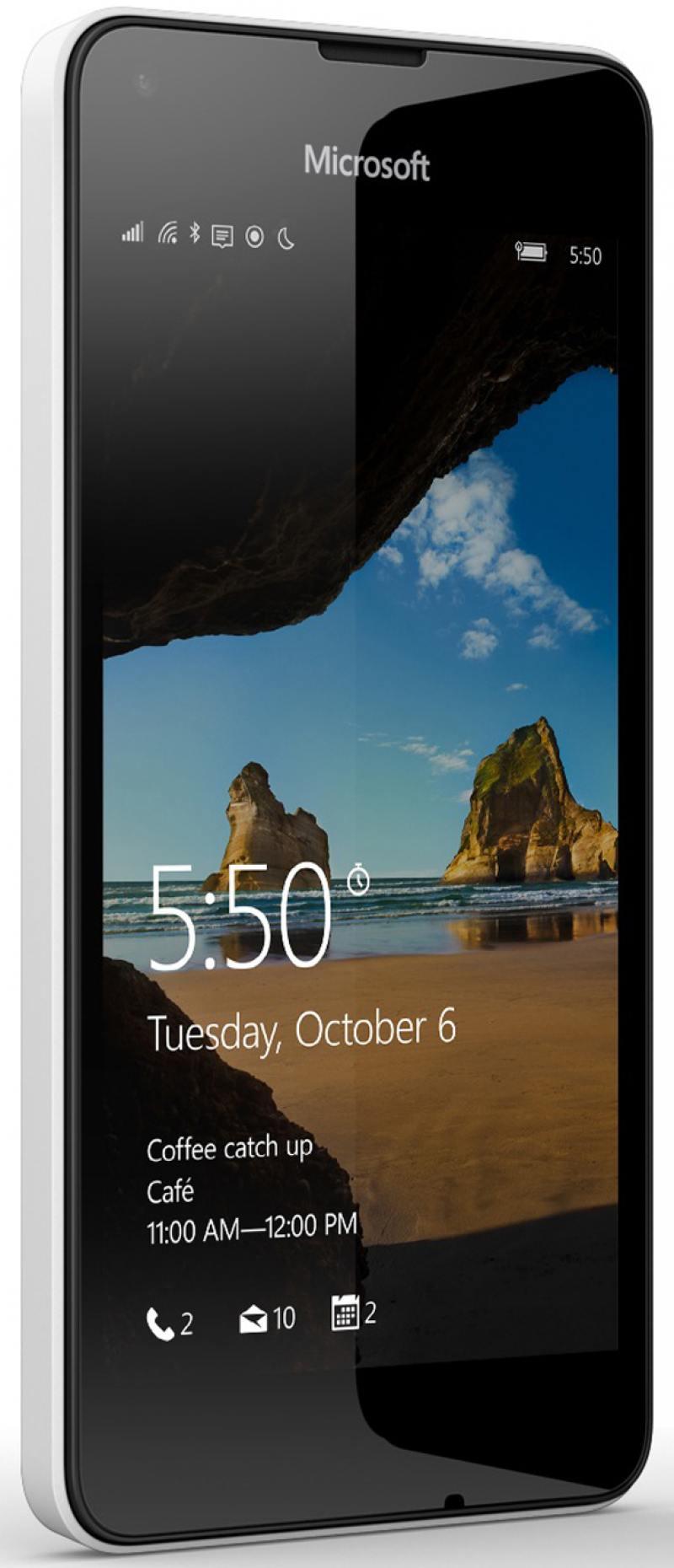 Смартфон Microsoft Lumia 550 белый 4.7
