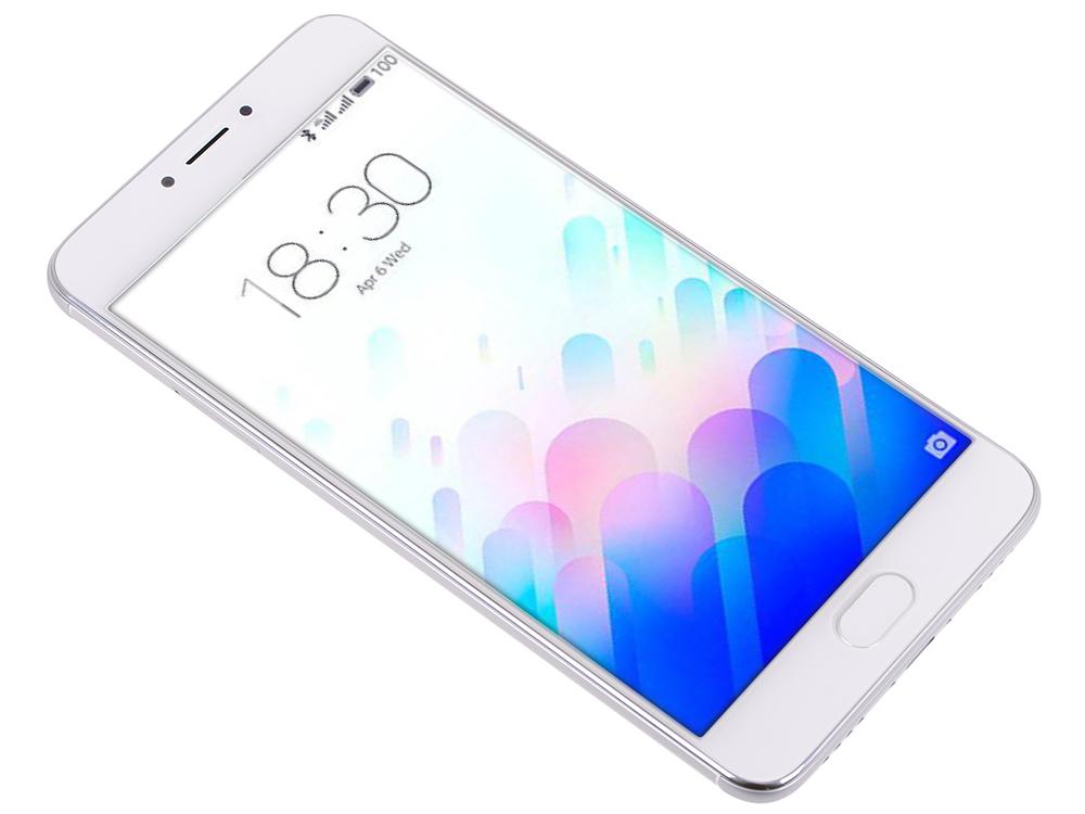 Смартфон Meizu M3 Note серебристый белый 5.5