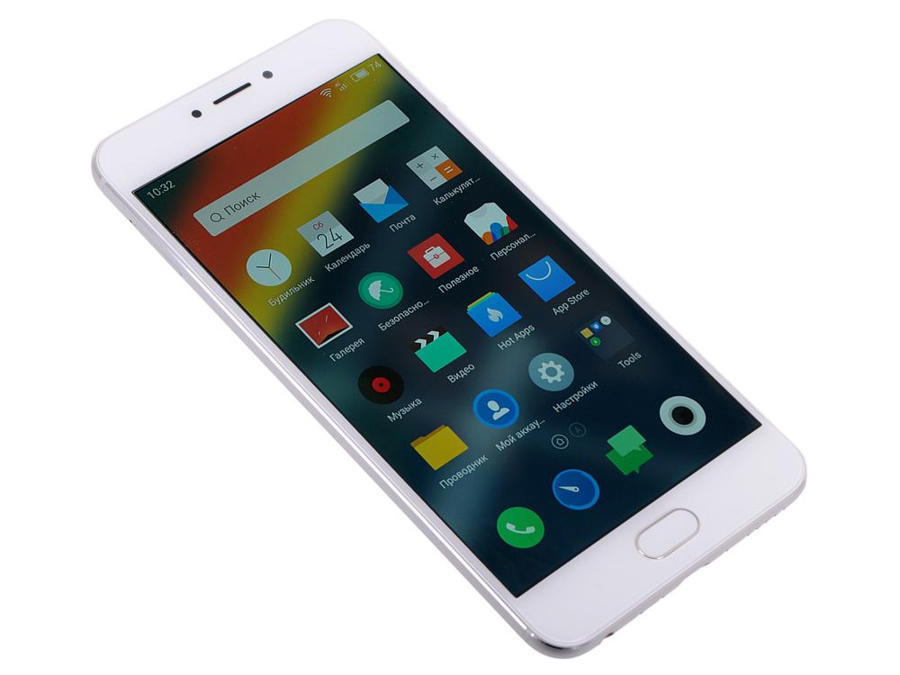 Смартфон Meizu MX6 32GB SILVER M685H-32-S. Производитель: MEIZU, артикул: 0422304