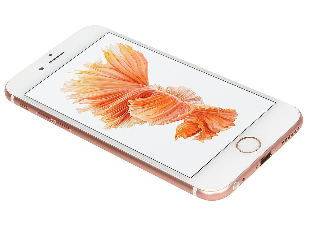Смартфон Apple iPhone 6S розовое золото 4.7 32 Гб Wi-Fi GPS 3G LTE NFC MN122RU/A смартфон micromax q334 canvas magnus черный 5 4 гб wi fi gps 3g
