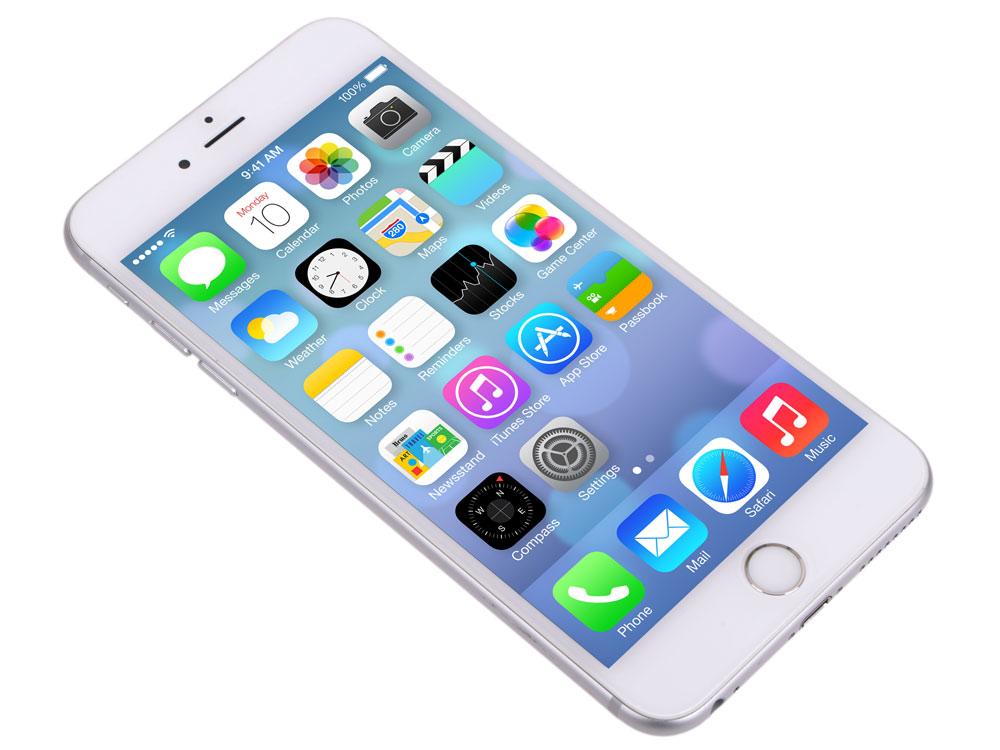 Смартфон Apple iPhone 6S Plus 5.5 128Gb Silver серебристый MKUE2RU/A смартфон apple iphone 6s plus