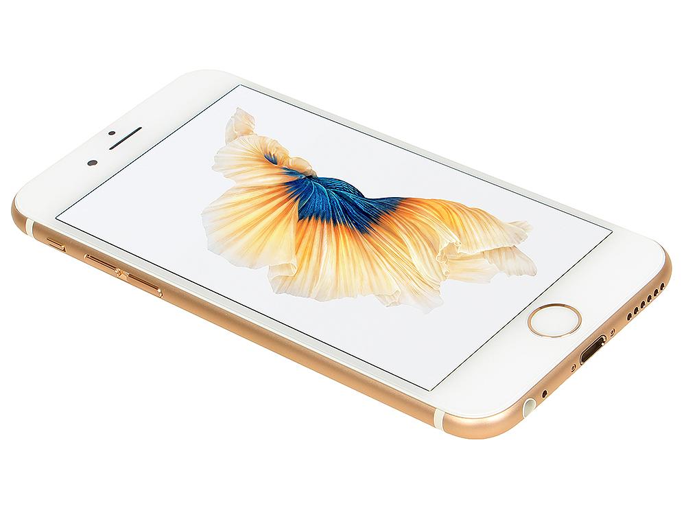 Смартфон Apple iPhone 6S золотистый 4.7 32 Гб Wi-Fi GPS 3G LTE NFC MN112RU/A смартфон micromax q334 canvas magnus черный 5 4 гб wi fi gps 3g