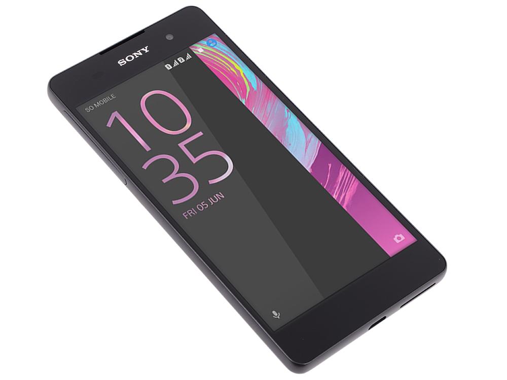 Смартфон SONY Xperia E5 (F3311) Graphite Black MediaTek MT6735/1.5 Гб/16 Гб/5 (1280x720)/3G/4G/BT/Android 6.0 смартфон sony xperia x graphite black android 6 0 marshmallow msm8956 1800mhz 5 0 1920x1080 3072mb 32gb 4g lte [f5121 graphite black]