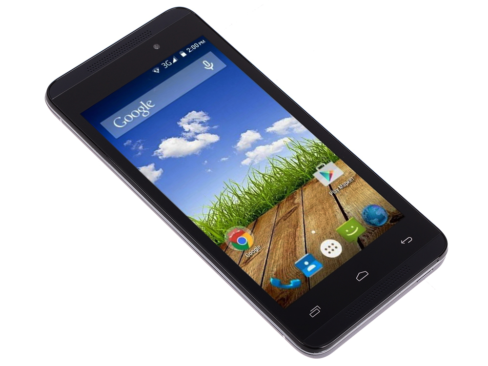 Смартфон Micromax A107 Cosmic Grey 4.5 8 Гб Wi-Fi GPS 3G 4,5/2SIM/8Гб/GPS/Wi-Fi/3G/Android 5.0/2000 мА/ч смартфон micromax q346 lite grey 4 5 854x480 fm радио bluetooth wi fi 3g android 5 1 1700 ма ч
