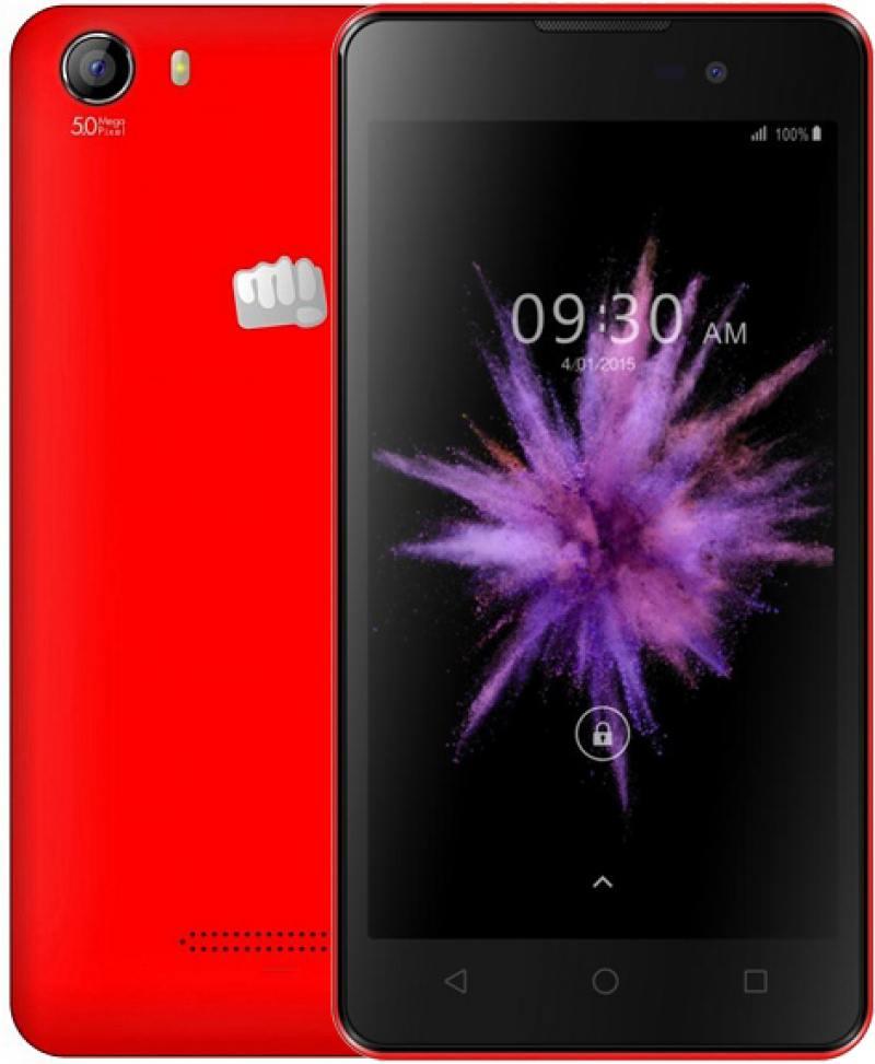 Смартфон Micromax Q334 Canvas Magnus красный 5
