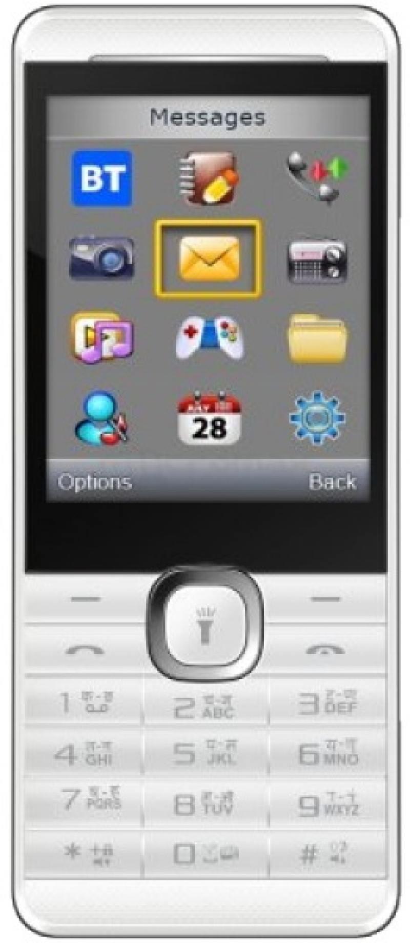 Мобильный телефон Micromax X249+ белый 2.4