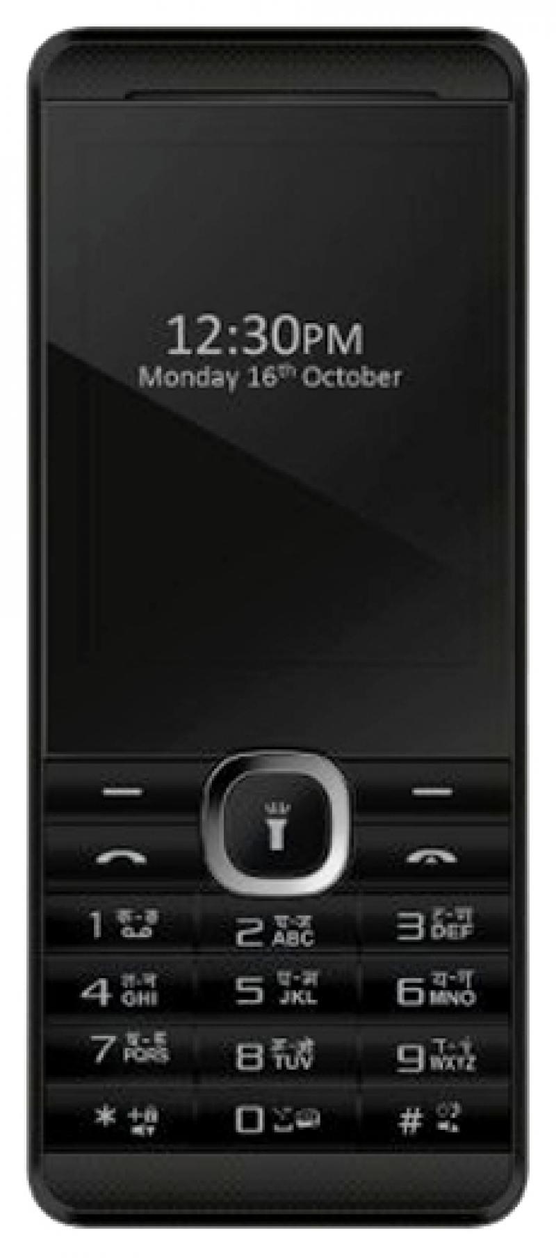 Мобильный телефон Micromax X249+ черный 2.4