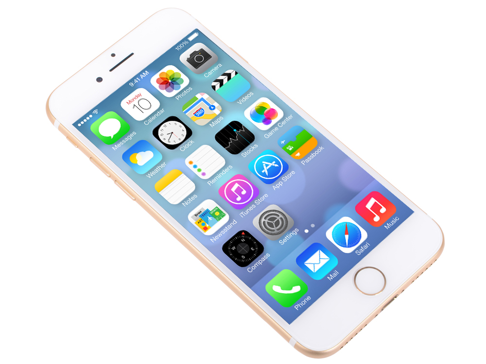 Смартфон Apple iPhone 7 золотистый 4.7 32 Гб NFC LTE Wi-Fi GPS 3G MN902RU/A смартфон micromax q334 canvas magnus черный 5 4 гб wi fi gps 3g