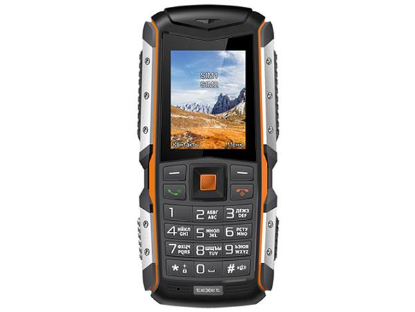 цены на Мобильный телефон Texet TM-513R оранжевый черный 2