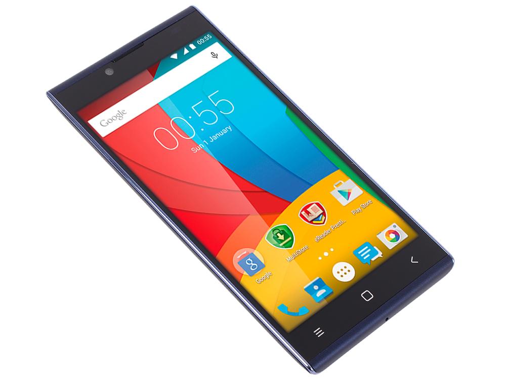 Смартфон Prestigio GRACE Q5 (PSP5506DUOBLUE) 5.0