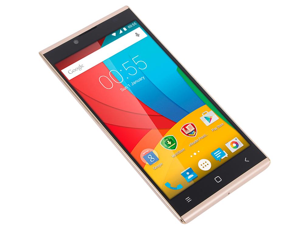 Смартфон Prestigio GRACE Q5 (PSP5506DUOGOLD) 5.0