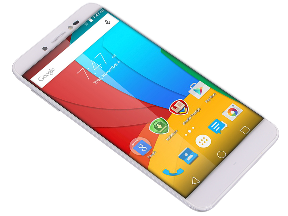 Смартфон Prestigio Grace Z5 (PSP5530DUOSILVER) 5.3