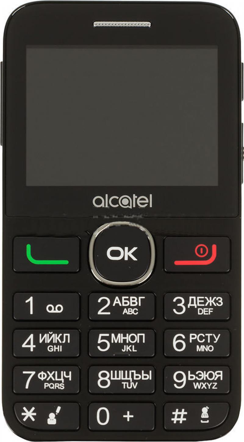 Мобильный телефон Alcatel Tiger XTM 2008G белый моноблок 2.4 BT мобильный телефон alcatel onetouch 2008g black white