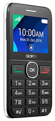 Мобильный телефон Alcatel Tiger XTM 2008G белый моноблок 2.4 BT alcatel 2008g black