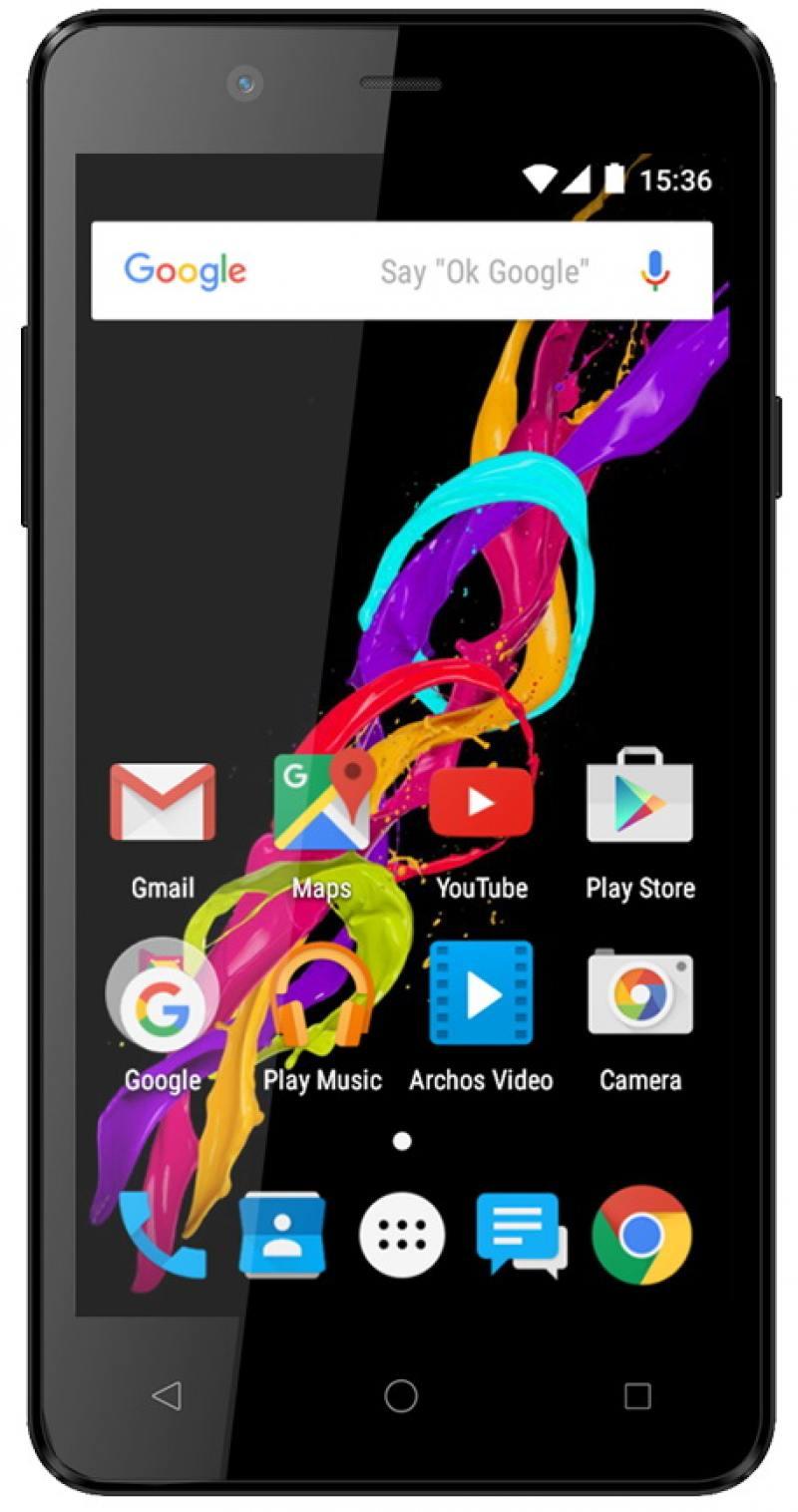 Смартфон ARCHOS 50 Titanium 4G черный 5