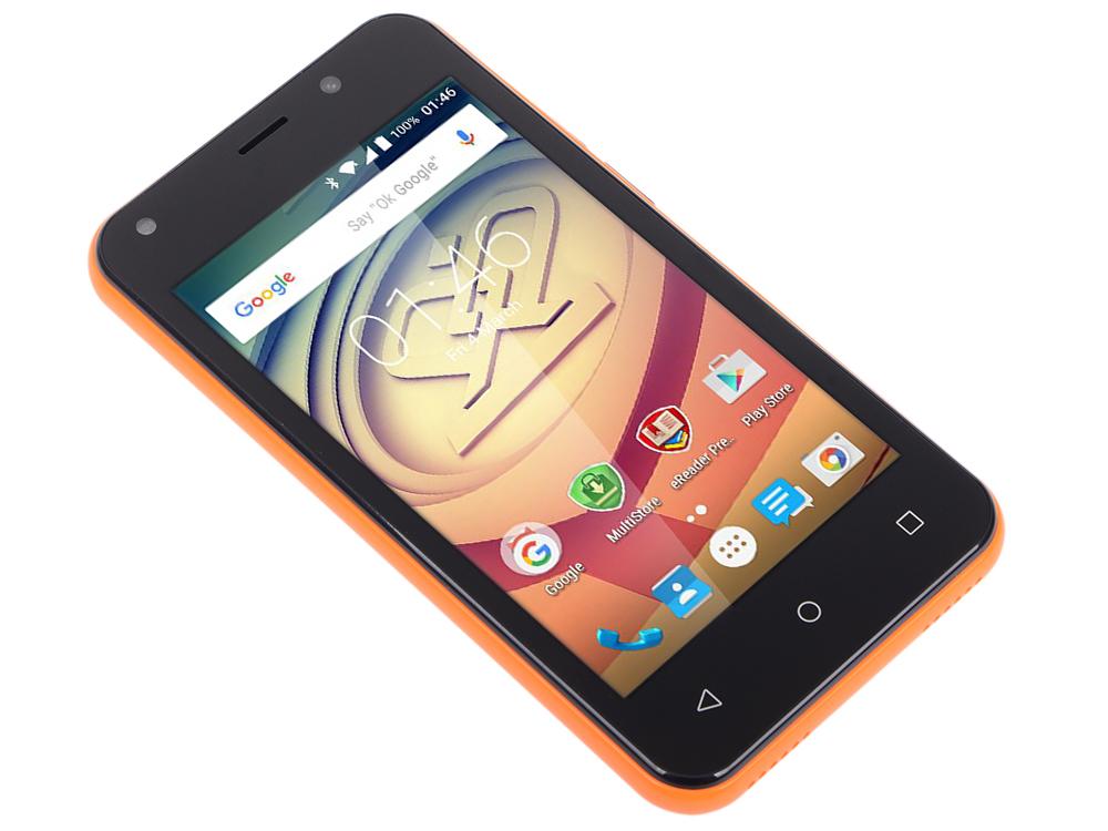 Смартфон Prestigio Wize L3 (PSP3403DUOORANGE) 4.0