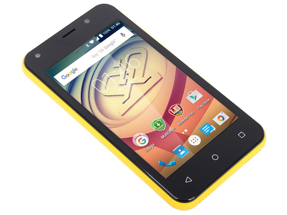 Смартфон Prestigio Wize L3 (PSP3403DUOYELLOW) 4.0