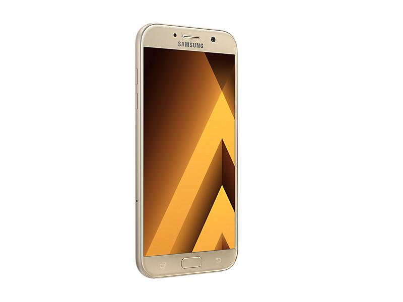 Смартфон Samsung Galaxy A7 (2017) SM-A720F золотой планшет samsung galaxy tab a sm t350 sm t350nzkaser