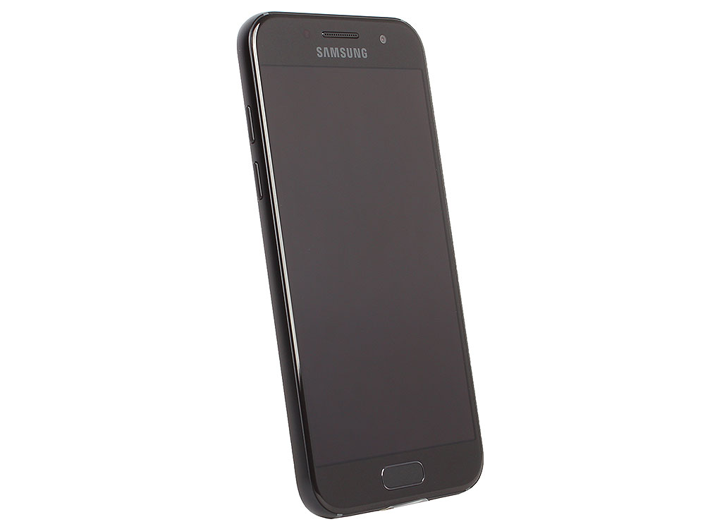 Смартфон Samsung Galaxy A3 (2017) SM-A320F черный смартфон samsung galaxy a3 2017 sm a320f blue