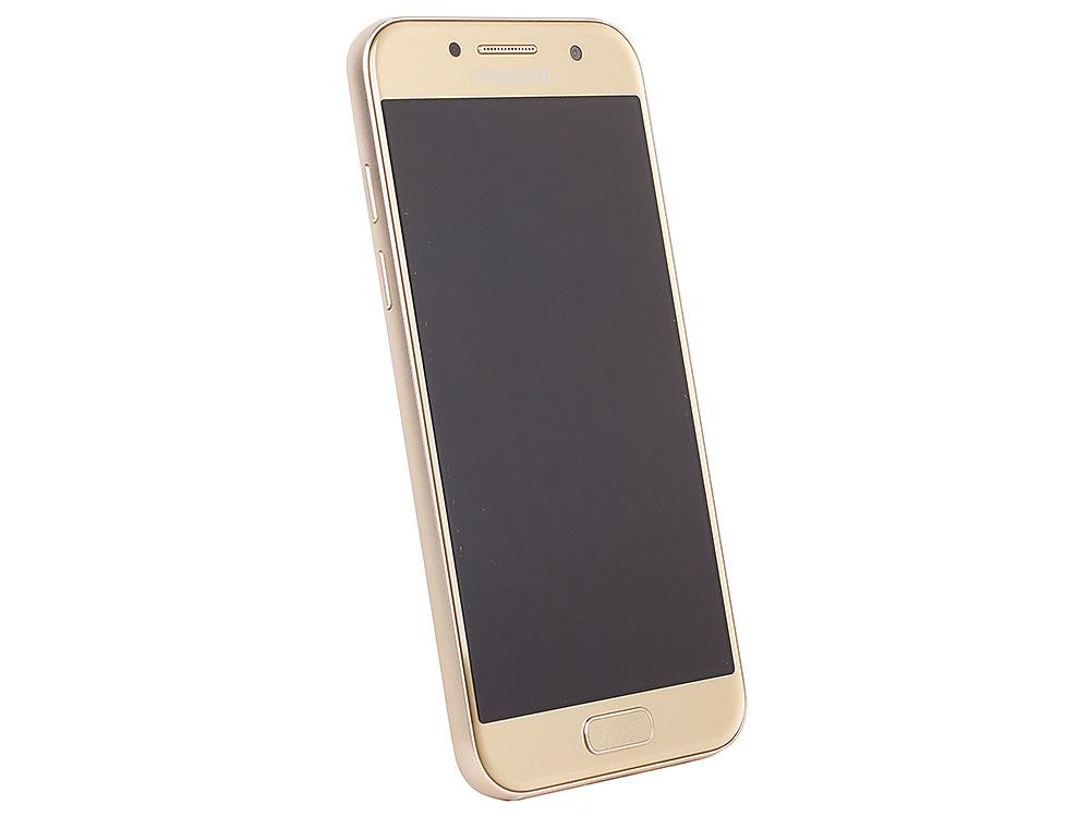 Смартфон Samsung Galaxy A3 (2017) SM-A320F золотой смартфон samsung galaxy a3 2017 sm a320f blue