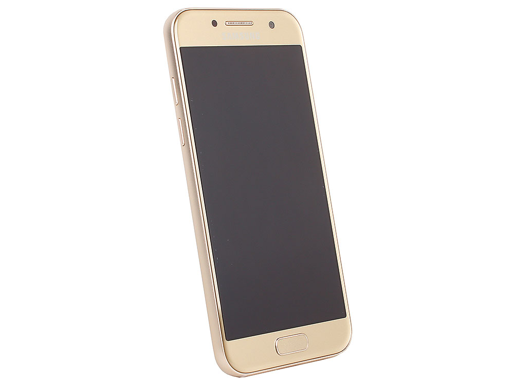 Смартфон Samsung Galaxy A3 (2017) SM-A320F золотой