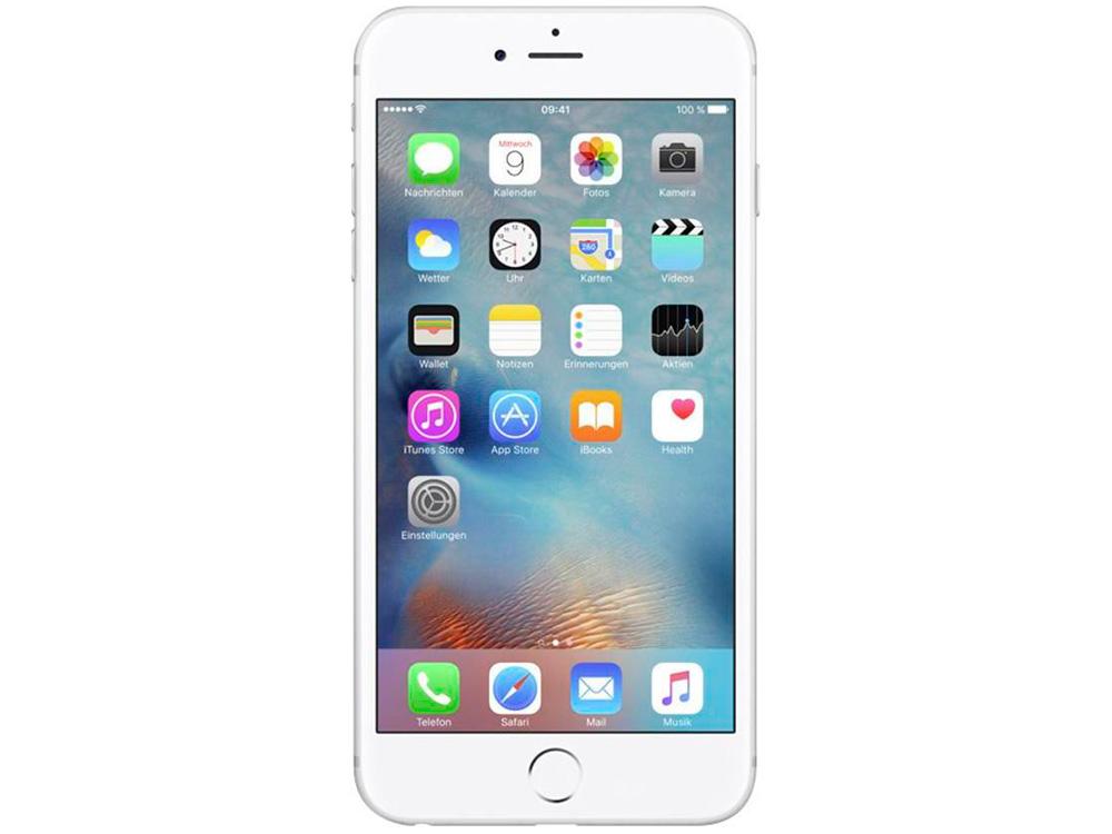 """Смартфон Apple RFB iPhone 6 Plus 64 Gb Silver (FGAJ2RU/A) Восстановленный на заводе APPLE 5.5"""" (1080x1920) HD Retina от OLDI"""