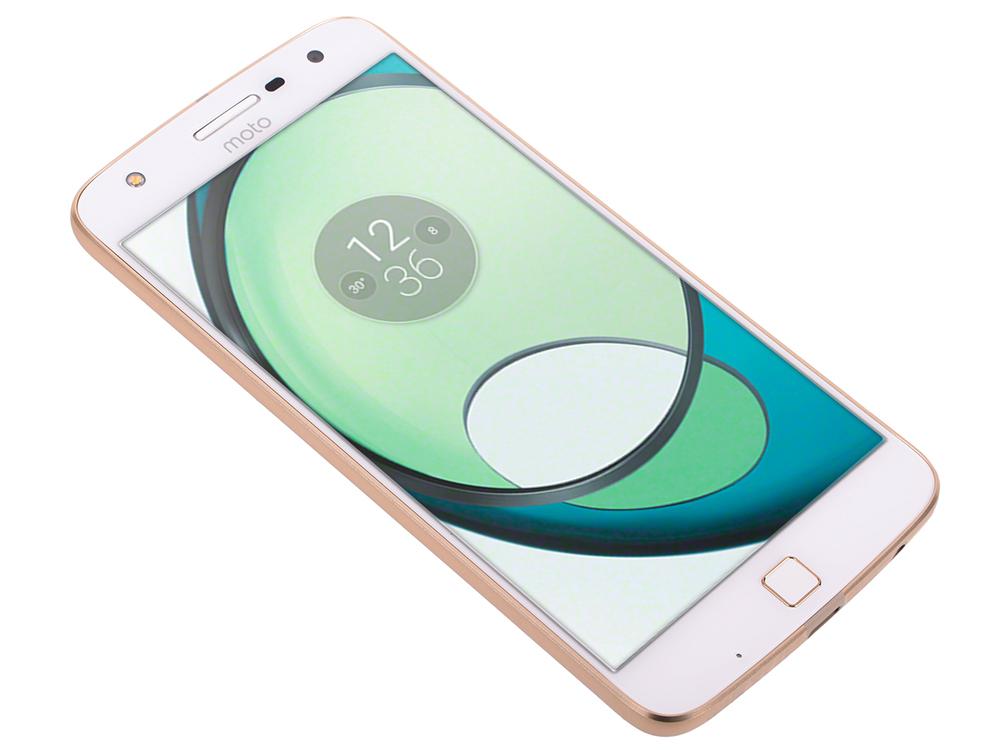 "Смартфон Motorola Moto Z Play белый 5.5"" 32 Гб LTE NFC Wi-Fi GPS 3G XT1635-02 SM4425AD1U1"