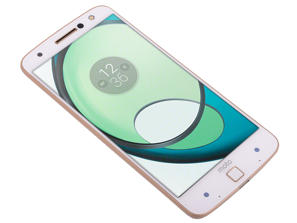 Смартфон Motorola MOTO Z XT1650 5.5 QHD/ 2560х1440/Qualcomm Snapdragon 820/4GB/32GB/Dual SIM/SD/LTE/WiFi/BT/13MP/Fingerprint sensor/Android 6.0/Gold
