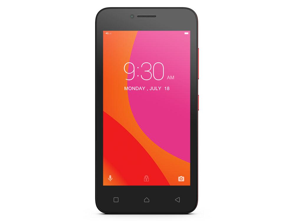 Смартфон Lenovo VIBE B A2016 красный 4.5