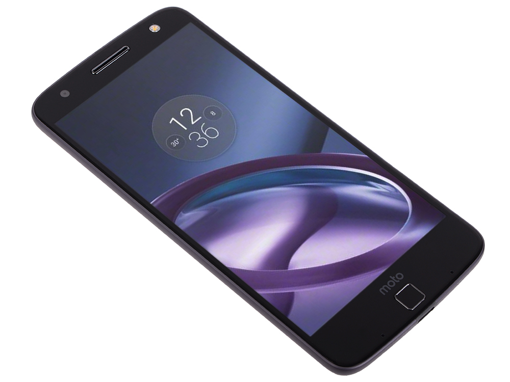Смартфон Motorola MOTO Z XT1650 5.5 QHD/ 2560х1440/Qualcomm Snapdragon 820/4GB/32GB/Dual SIM/SD/LTE/WiFi/BT/13MP/Fingerprint sensor/Android 6.0/Black