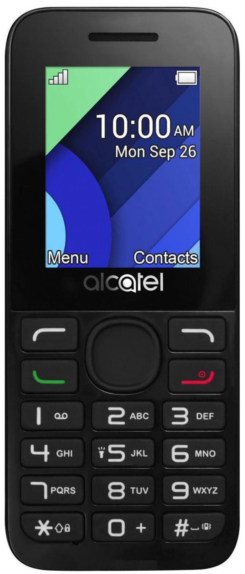 Мобильный телефон Alcatel 1054D темно-серый 1.8