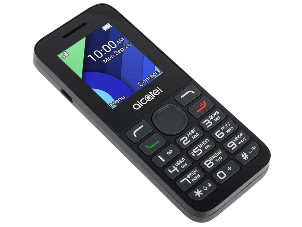 Мобильный телефон Alcatel 1054D темно-серый 1.8 4 Мб мобильный телефон alcatel 1054d темно серый 1 8 4 мб