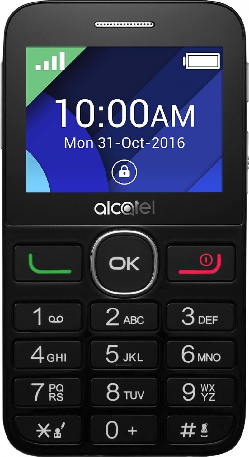 Мобильный телефон Alcatel Tiger XTM 2008G черный 2.4 2008G-3EALRU1 мобильный телефон alcatel tiger xtm 2008g серебристый 2008g 3balru1