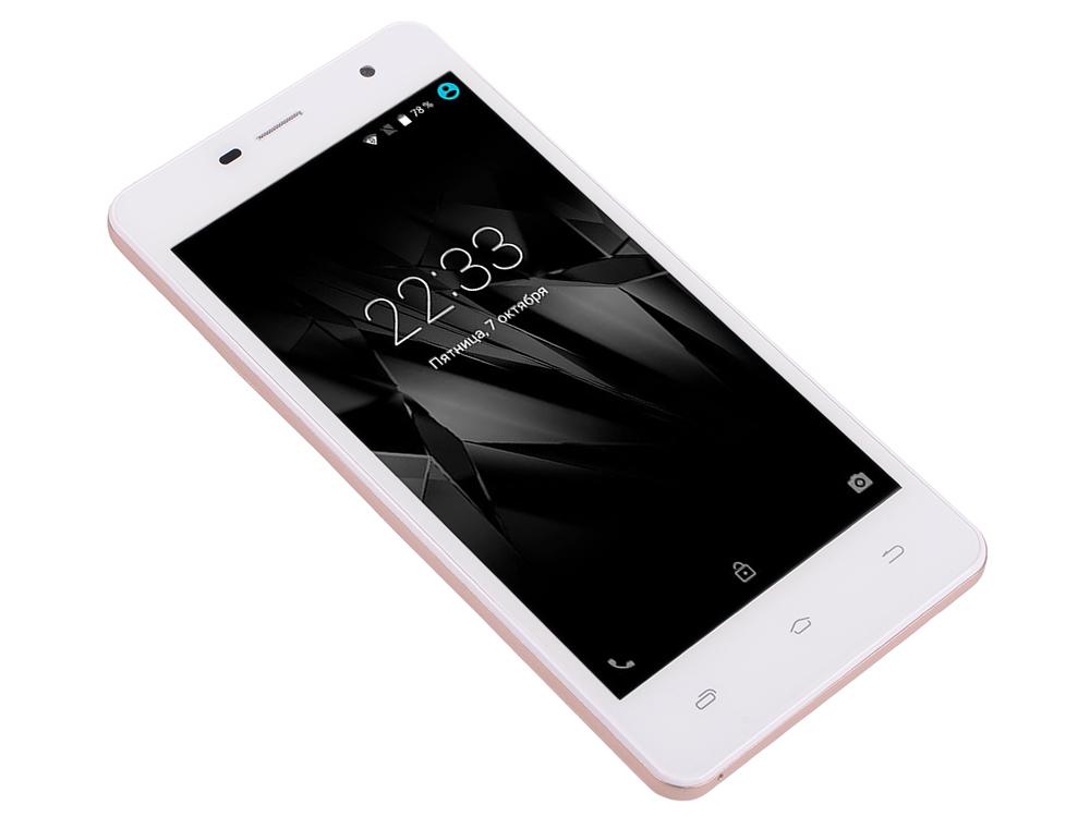 Смартфон Micromax Q351 Champagne белый 5 8 Гб GPS Wi-Fi 3G смартфон micromax bolt q346 lite 3g 8gb blue