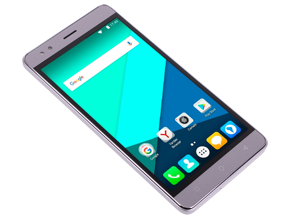 Смартфон Micromax Q397 Space Grey 5.5 16 Гб Wi-Fi GPS 3G смартфон micromax bolt q346 lite 3g 8gb blue