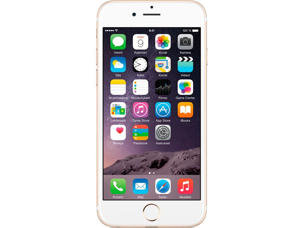 Смартфон Apple RFB iPhone 6 PLUS 16 GB Gold (FGAA2RU/A) Восстановленный на заводе APPLE 5.5(1920x1080) HD Retina