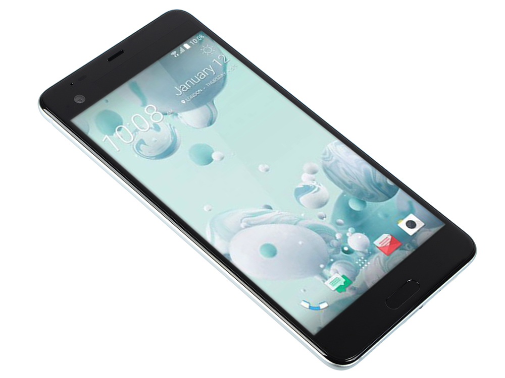 Смартфон HTC U Ultra White Qualcomm Snapdragon 821/4 Гб/64 Гб/5.7 2560x1440/12Mp+16Mp/DualSim/3G/LTE/BT/Android 7.0 смартфон htc u ultra 128 гб черный 99halu052 00